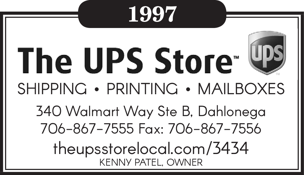 SHIPPING and Printing by The UPS Store in 340 Walmart Way