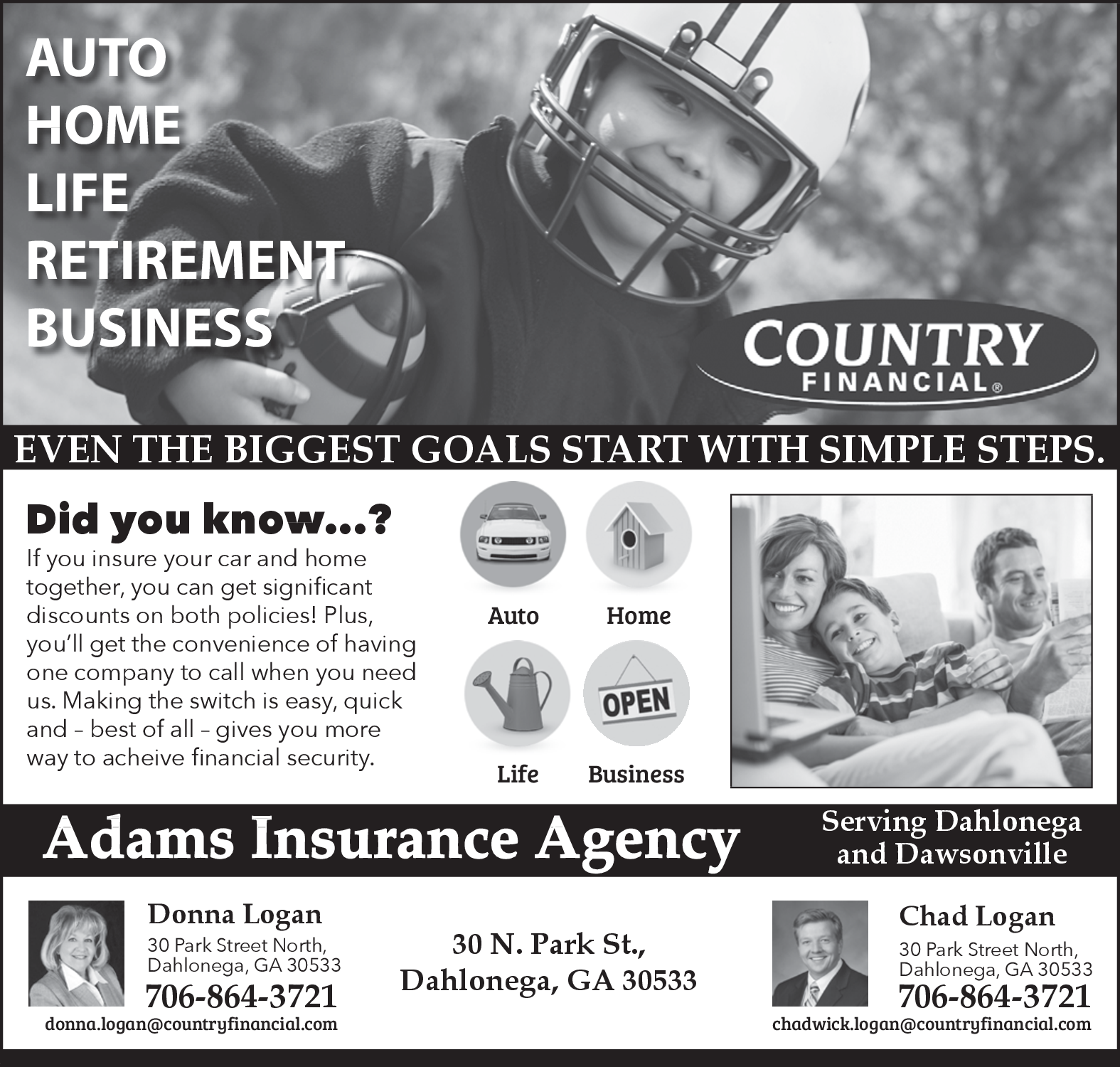 Country Financial Car Insurance >> Country Financial Services For Auto Home In Dahlonega Ga