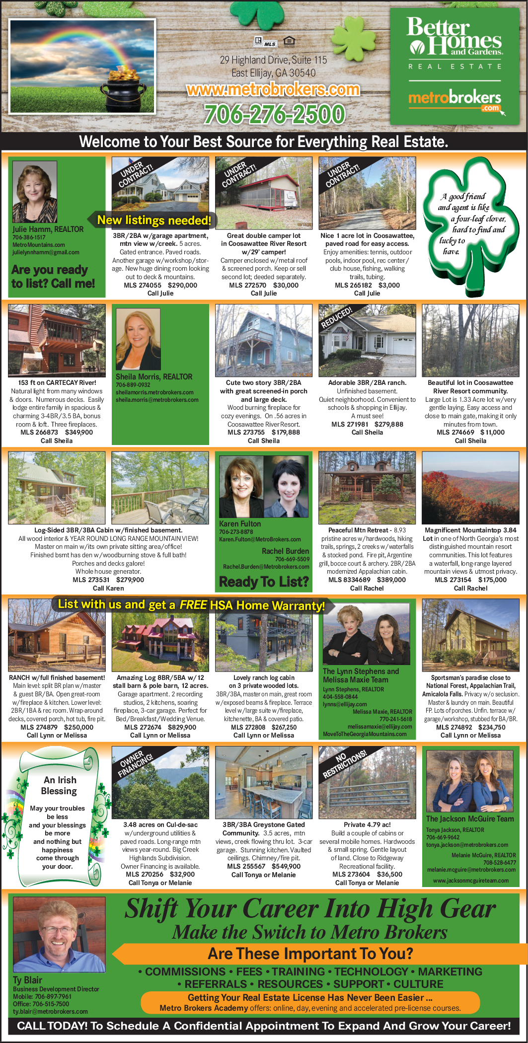 Homes, Apartments, Acre and Lots on Sale in East Ellijay, GA